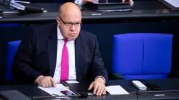 Altmaier fordert Scholz zur Streichung der Bonpflicht auf
