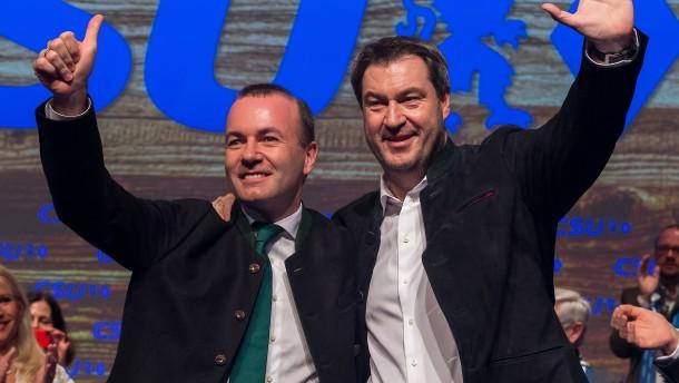 Mit Dreitagekampfbart auf Europakurs