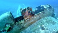 Deutscher Weltkriegs-Bomber in der Adria entdeckt