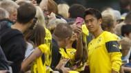 Dortmund-Fans freuen sich auf Kagawa