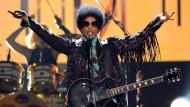 Prince bei einem Konzert in Las Vegas, 2013