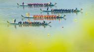 Drachenbootrennen in Zigui.