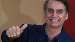 """Bolsonaro droht mit nie dagewesener """"Aufräumaktion"""""""