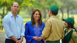 William und Kate in Pakistan