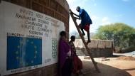 Hilfe sich selbst zu helfen: Wassergewinnung in Kenia