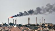 Öl-Produktion am Persischen Golf in Iran