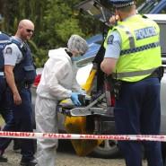 Die neuseeländische Polizei im Dezember 2018: Auf der Suche nach der damals noch vermissten 22 Jahre alten Britin