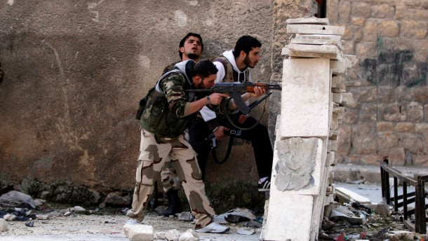 Kämpfe in Aleppo