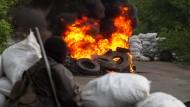 Ukraine startet Offensive in Slawjansk