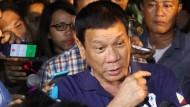 """Duterte erklärt einen Zustand gesetzloser Gewalt"""""""