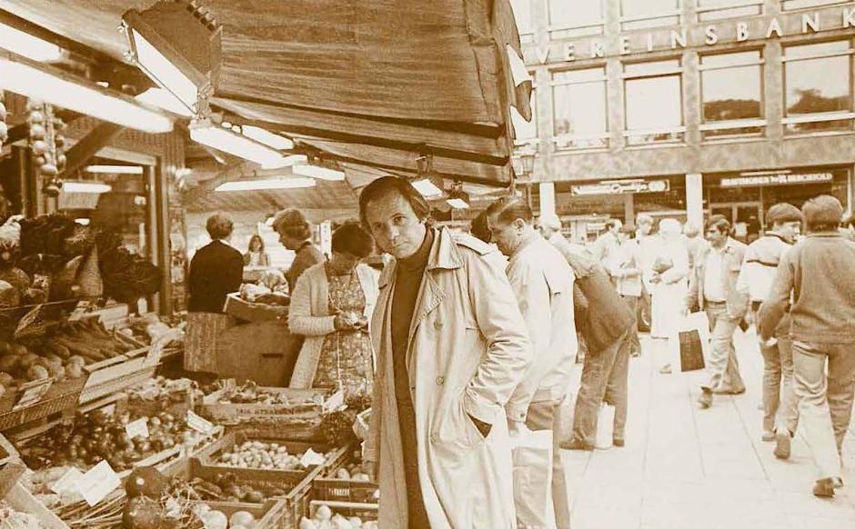 Schon in den Siebziger- und Achtzigerjahren eine Oase der Feinschmeckerei in der kulinarischen Wüste: Eckart Witzigmann auf dem Münchner Viktualienmarkt