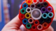 Flott online gehen: Ein Rohrsystem für die Verlegung von Glasfaserkabeln