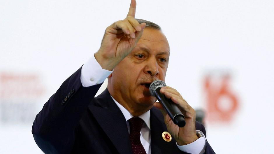 Erdogan ruft Türken in Deutschland zu Wahlboykott auf