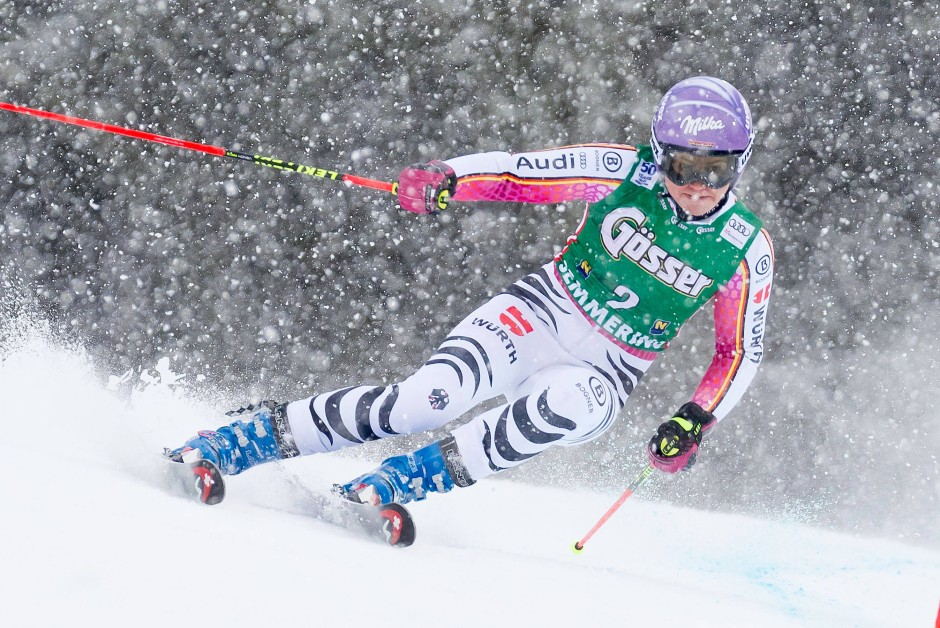 Viktoria Rebensburg: Ein Lichtblick im Schneetreiben