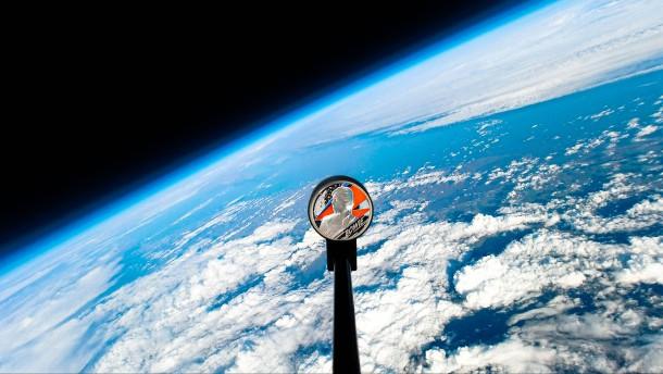David Bowie auf Weltraumflug