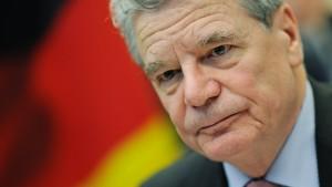 Gauck gegen baldige Volksabstimmung über Europa