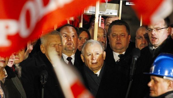 Polen wünscht sich Pulverdampf