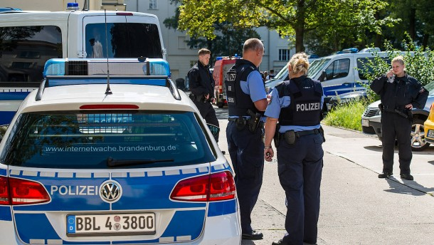 Falscher Terroralarm in Eisenhüttenstadt