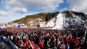Der Stolz Norwegens: Die größte Schanze der Welt in Vikersund