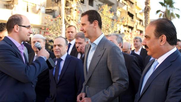 Assad will Syrien wieder ganz einnehmen