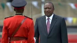 Kenias neuer Präsident legt Amtseid ab