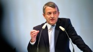 """Niersbach bleibt Präsident: """"Ich verspüre mehr Lust als Last, viel mehr Freude als manchmal Frust"""""""