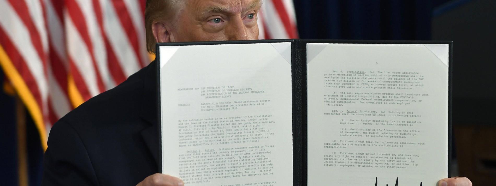 Trump-Regierung macht 3,1 Billionen Dollar Schulden