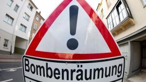 Weltkriegsbombe in Gießen entschärft