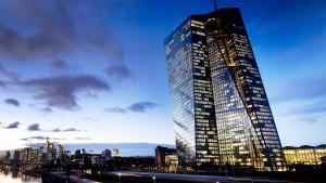 Die EZB bleibt ein Großkäufer von Anleihen