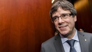 Madrid geht gegen Kandidatur Puigdemonts vor