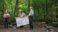 Planwirtschaft: Ein detailliertes Konzept gibt vor, wie sich der Wald in den nächsten zehn Jahren entwickeln soll.
