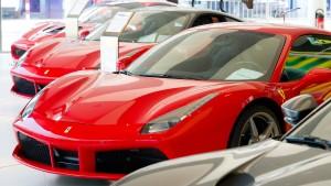 Für Feinschmecker, Ferrari-Fans und Frankfurt-Touristen