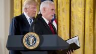 Kontakte zu Trumps Regierung wachsen und verstetigen sich