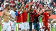 Happy End einer perfekten Woche: Ingolstadt ist nach drei Siegen in Serie wieder im Bundesliga-Geschäft
