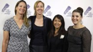 Die Preisträgerinnen: die AP-Journalistinnen Martha Mendoza (links), Robin McDowell, Esther Htusan und Margie Mason