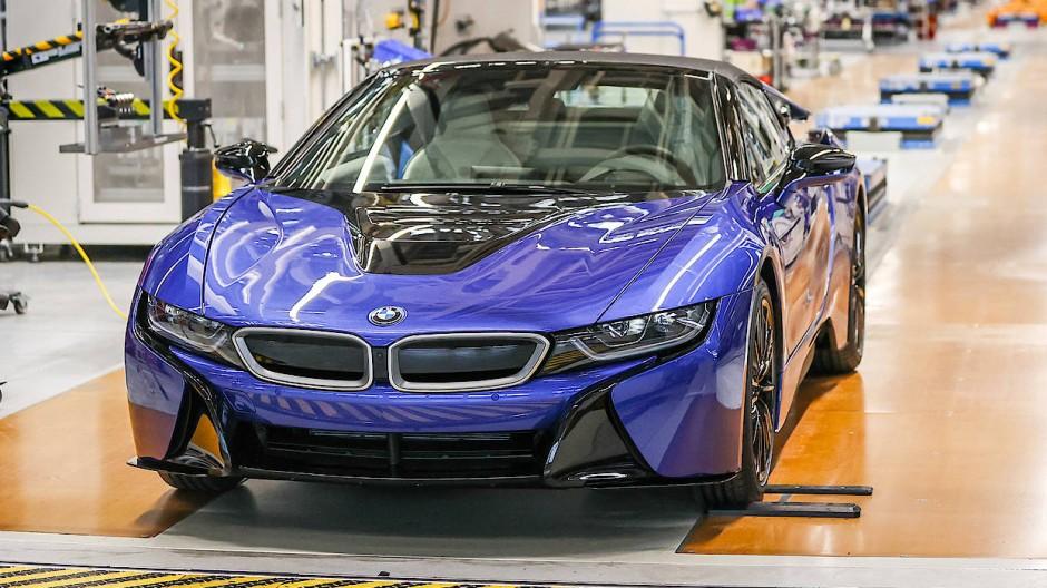 Hybrid-Technologie als Auslaufmodell? Der letzte produzierte BMW i8 lief 2020 vom Band.