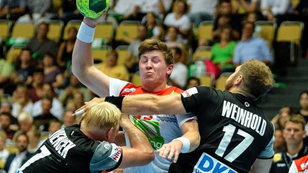 Deutsche Handballer verlieren gegen Norwegen