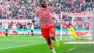 Modeste wendet Kölner Niederlage ab
