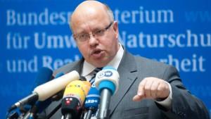 Altmaier will Ausbau von Windenergie deckeln