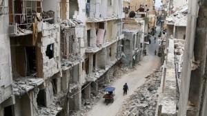 Syrische Führung lehnt Waffenruhe ab