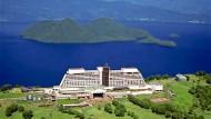 Die verschwundene Insel lag vor der nördlichsten Insel Hokkaido, hier zu sehen ist das Windsor Hotel in Toyako auf Hokkaido (Archivbild).