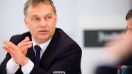 Der ungarische Ministerpräsident Viktor Orbán
