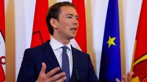 Österreich schließt mehrere Moscheen