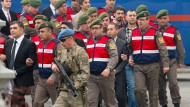 In dieser Woche begann in Mulga in der Türkei der Prozess gegen Soldaten, die am Putsch beteiligt gewesen sein sollen.