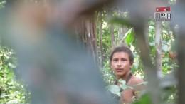 Isolierter Indianer-Stamm im Amazonas gefilmt