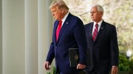 Trump bereitet Amerikaner auf weitere Opfer vor