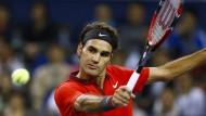 Roger Federer gewinnt in Shanghai