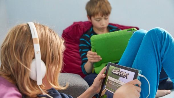 Experten warnen vor Suchtgefahr für Kinder