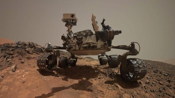 Handgefertigte Chips für den Mars-Roboter
