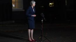 Britisches Kabinett stimmt Mays Brexit-Entwurf zu